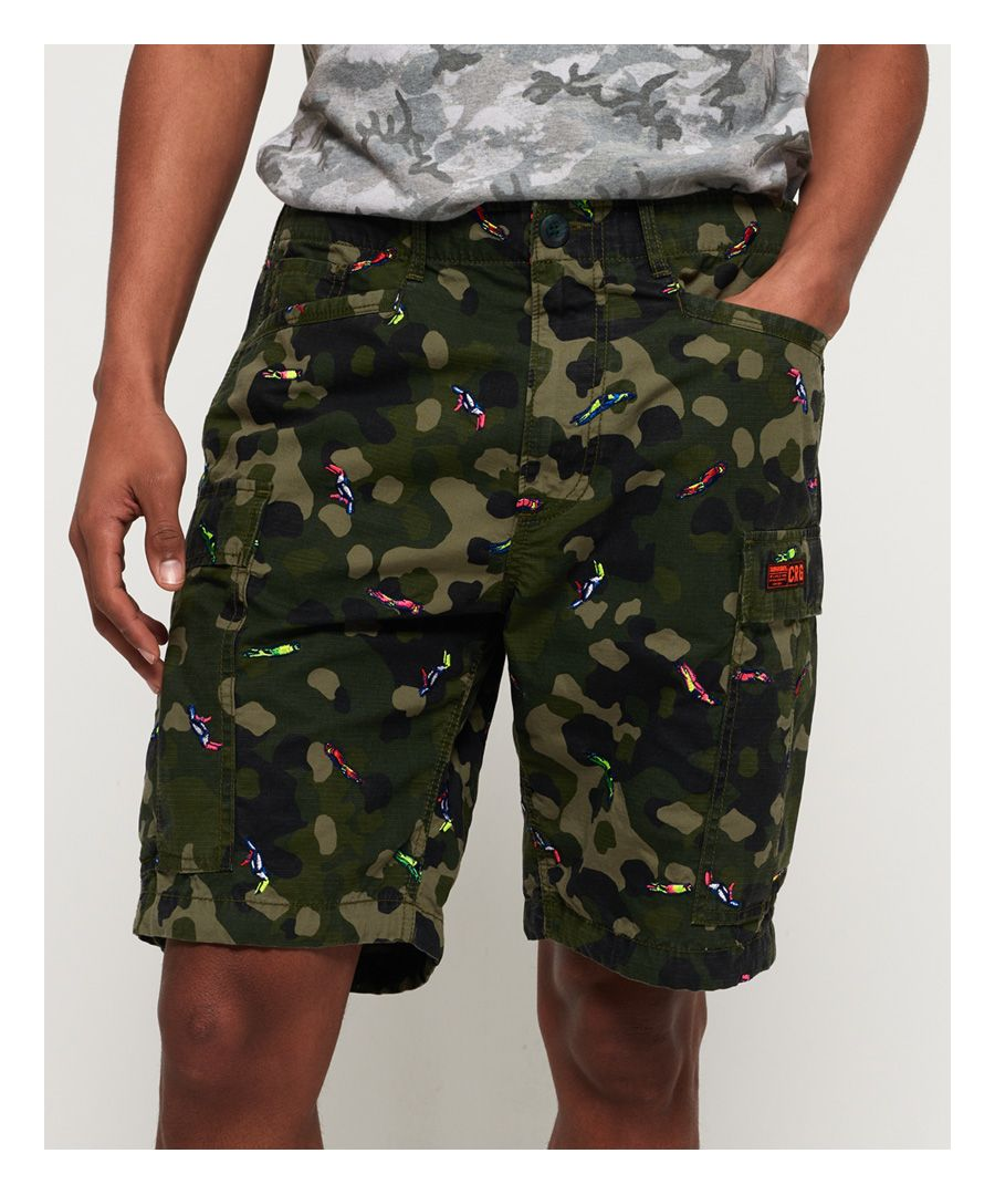 Image for Superdry Rookie Edition Parachute Cargo Shorts