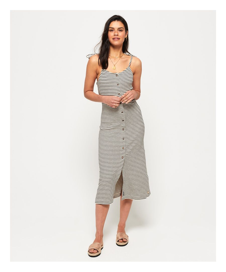 Image for Superdry Charlotte Button Down Midi Dress