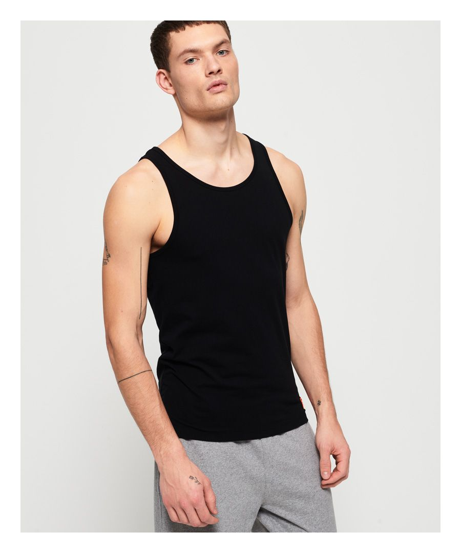Image for Superdry SD Laundry Organic Cotton Vest Double Pack