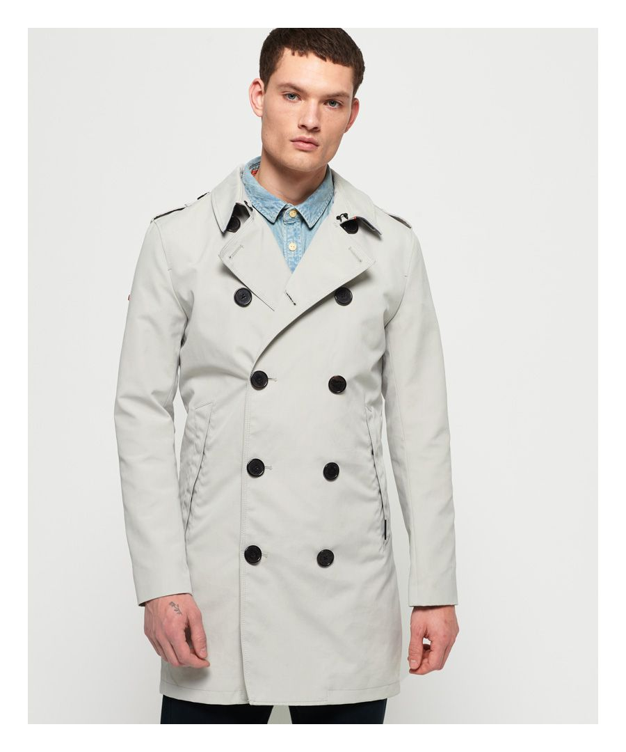 Image for Superdry Summer Rogue Trench Coat