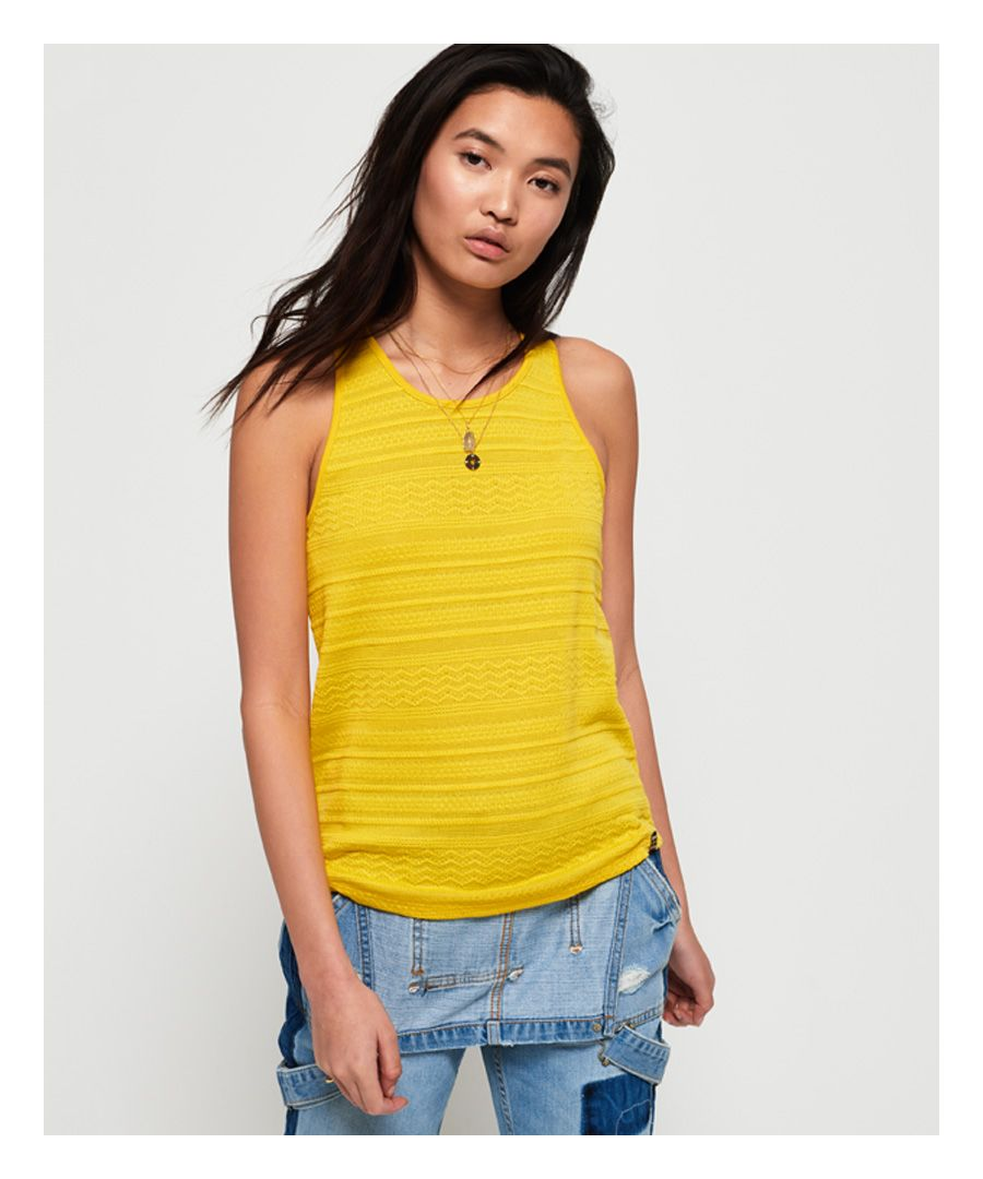 Image for Superdry Leya Textured Vest Top