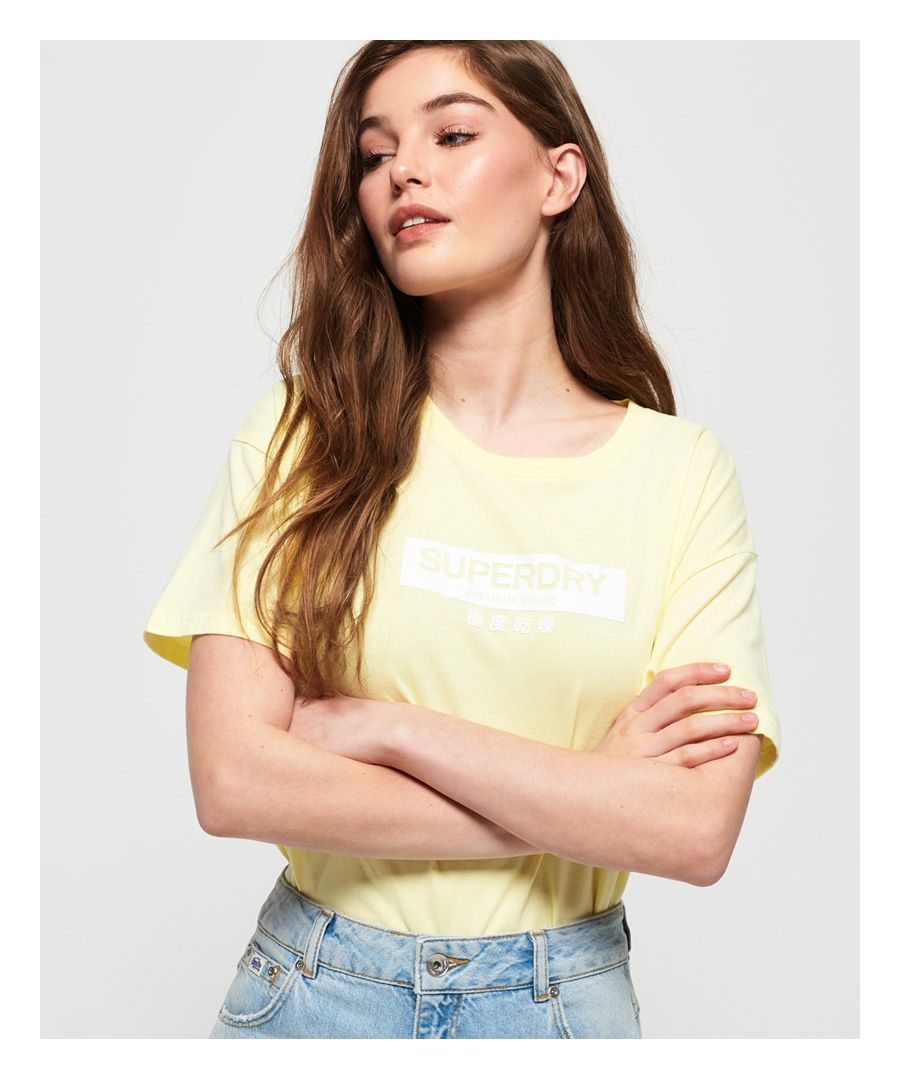 Image for Superdry Premium Brand Classic Oversized Portland T-Shirt