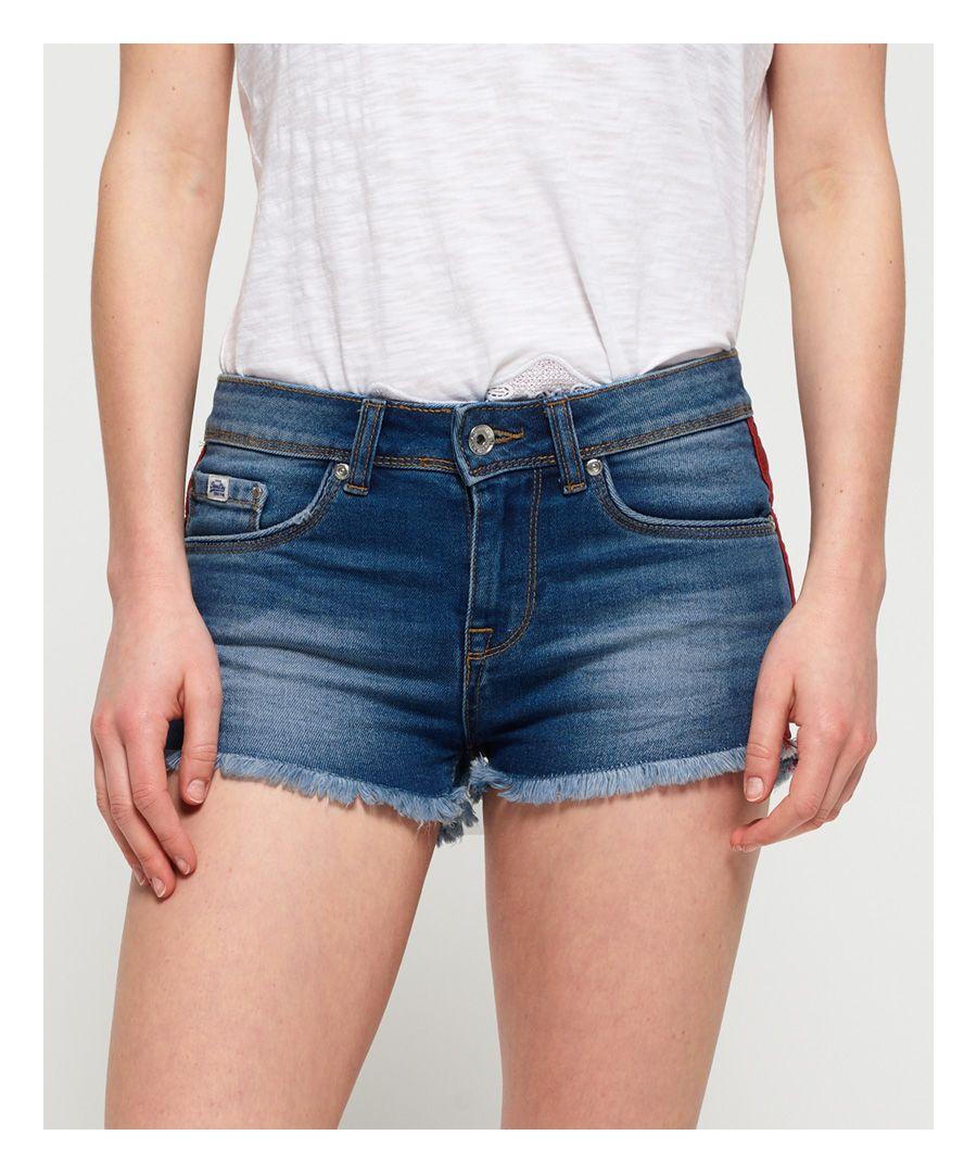 Image for Superdry Denim Hot Shorts