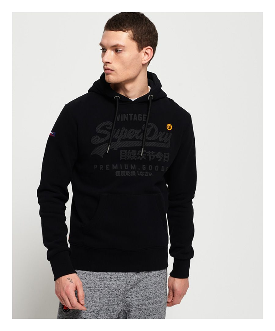 Image for Superdry Premium Goods Tonal Hoodie