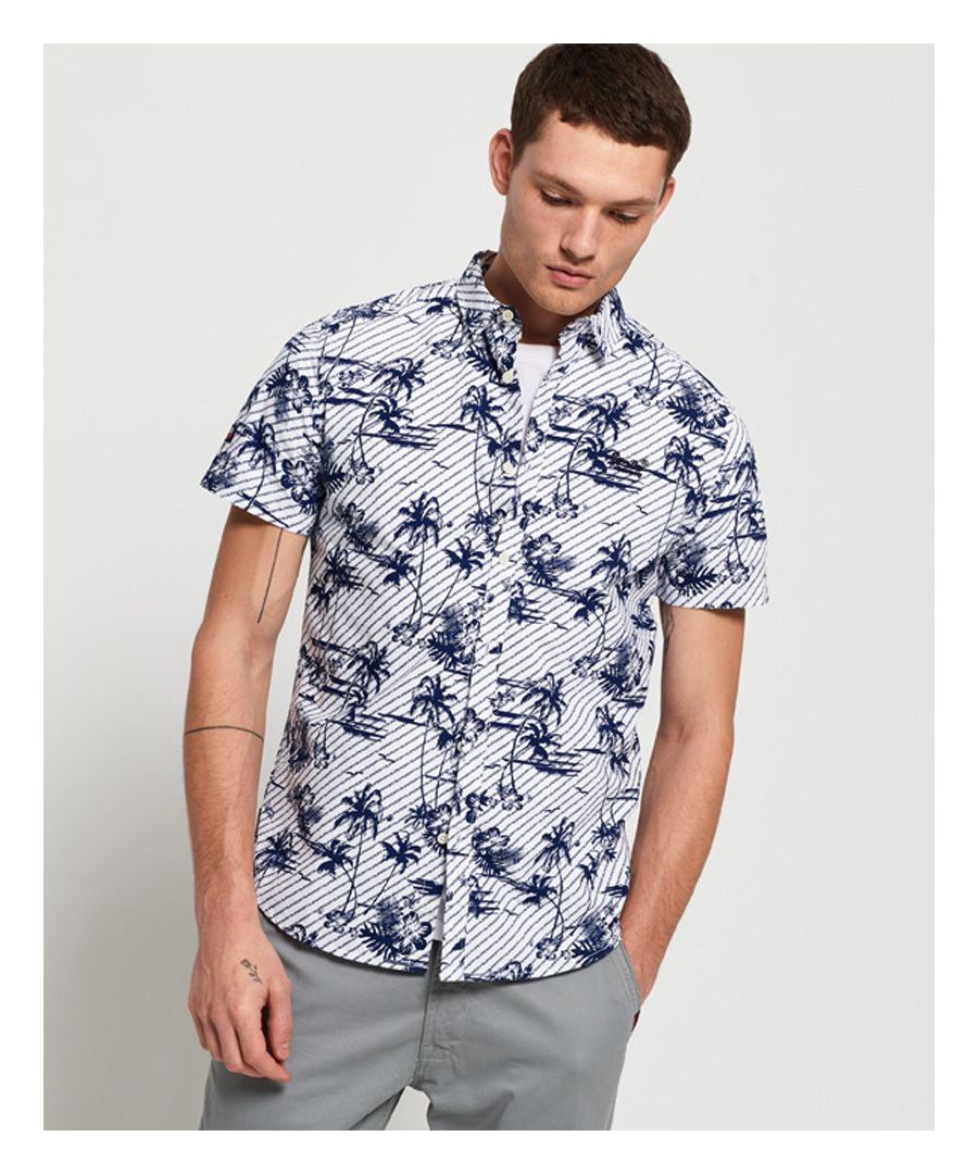Image for Superdry Short Sleeve International Vacation Shirt