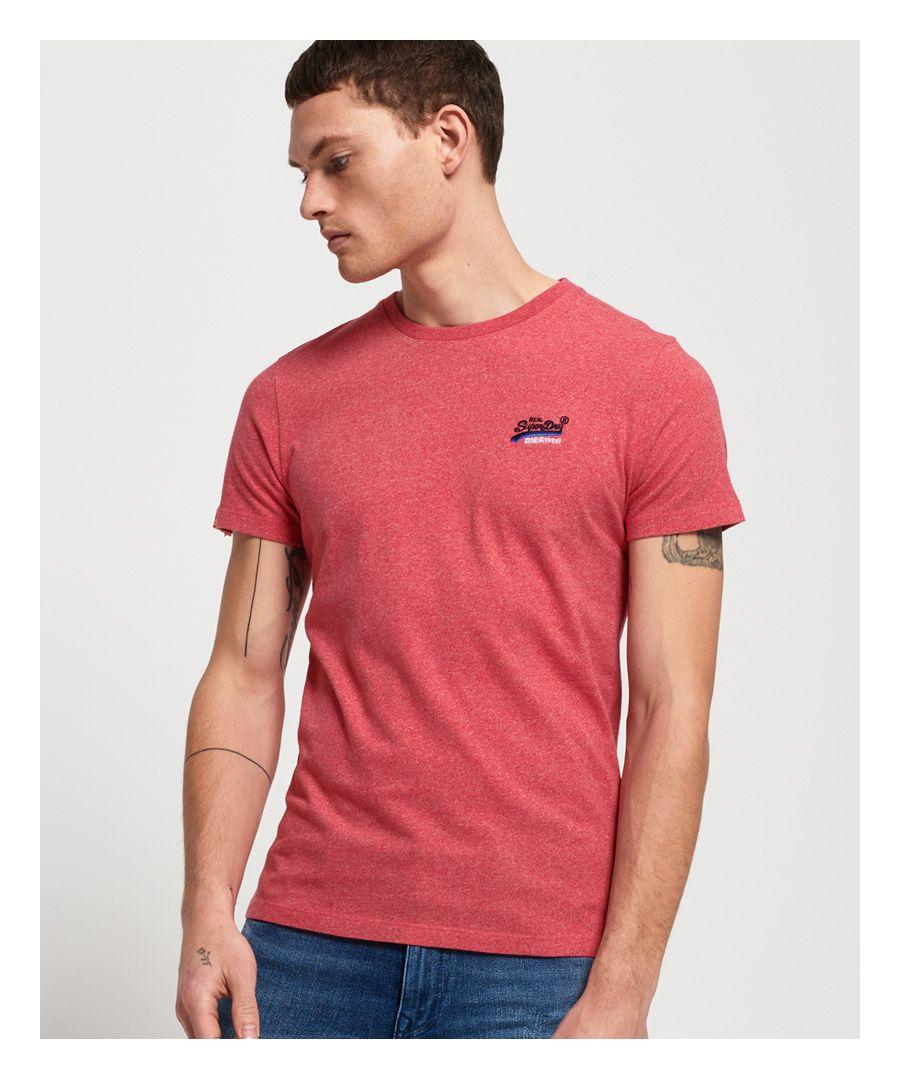 Image for Superdry Orange Label Vintage Embroidered T-Shirt
