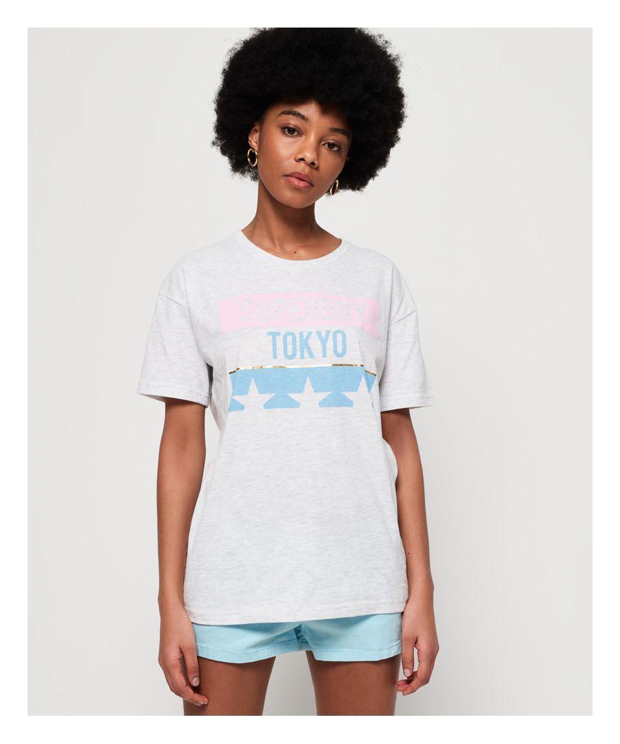 Image for Superdry Tokyo Stars Oversized Portland T-Shirt