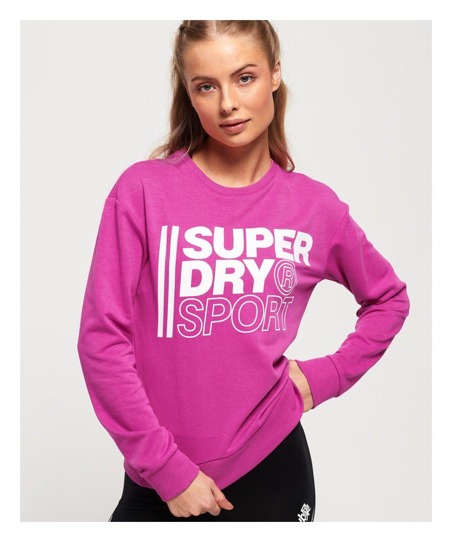 Image for Superdry Core Sport Crew Sweatshirt