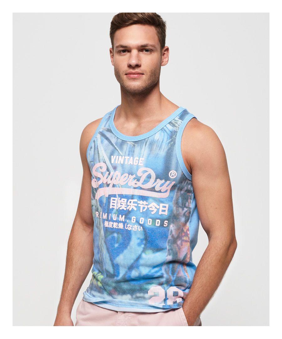 Image for Superdry Premium Goods Photographic Vest