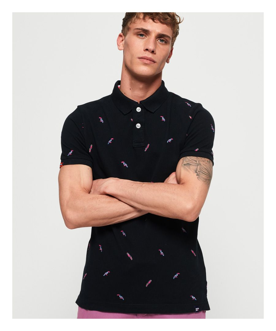 Image for Superdry Bermuda Polo Shirt