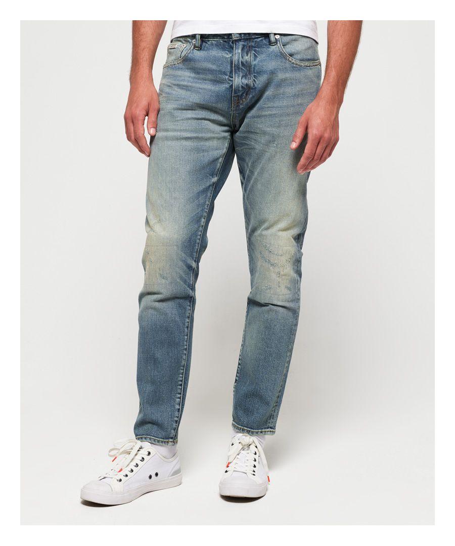 Image for Superdry Premium Slim Selvedge Jeans
