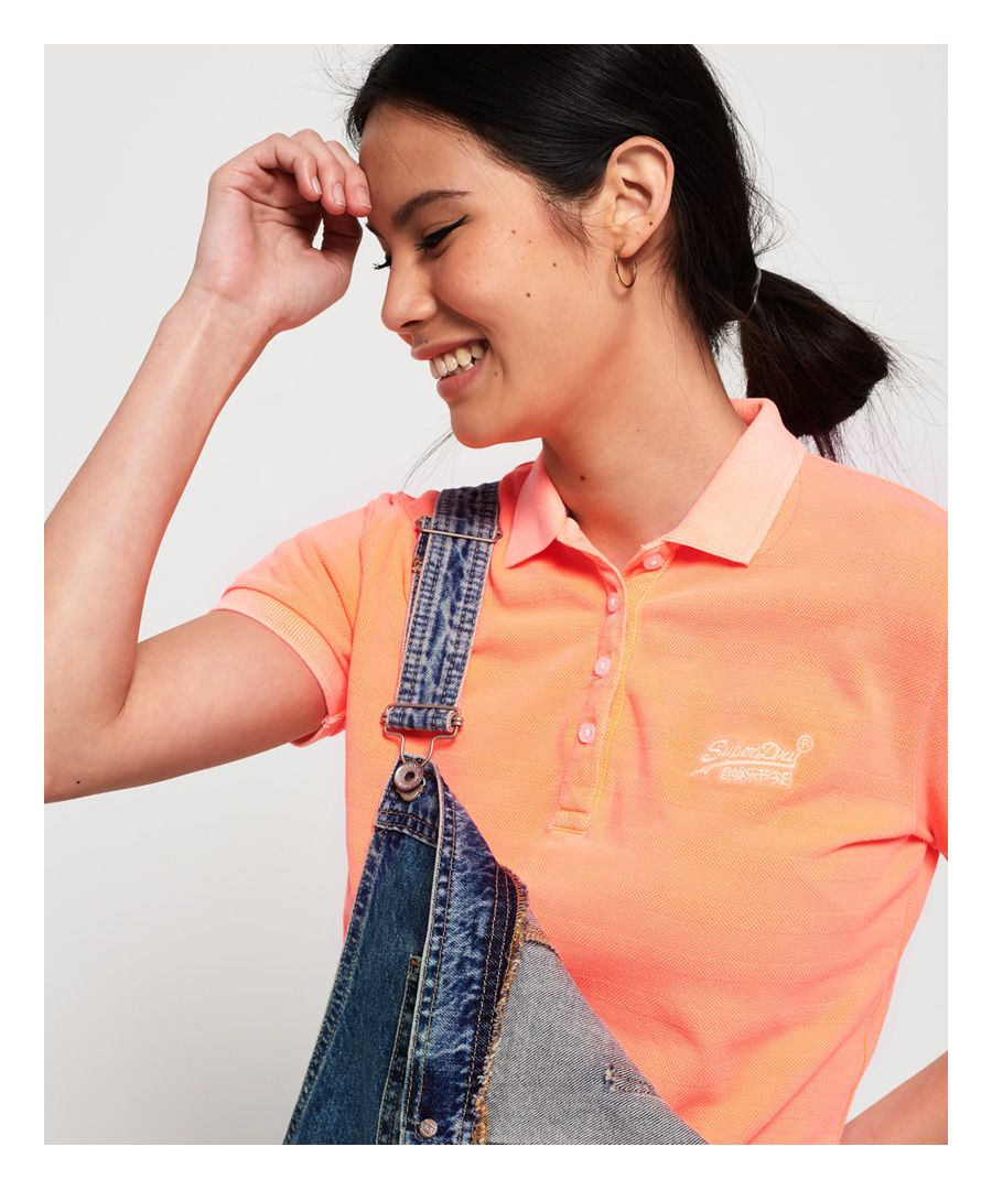 Image for Superdry Cotton Polo Top