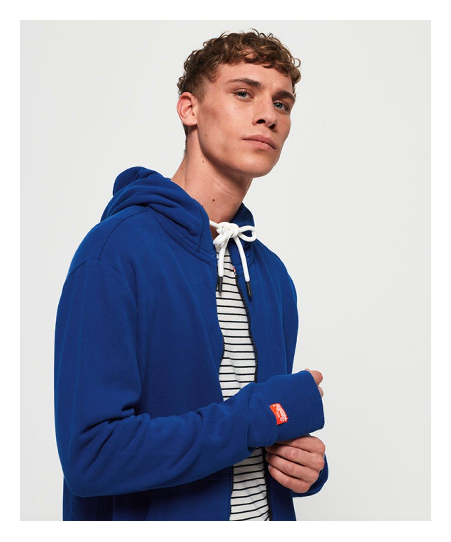 Image for Superdry Orange Label Lite Zip Hoodie