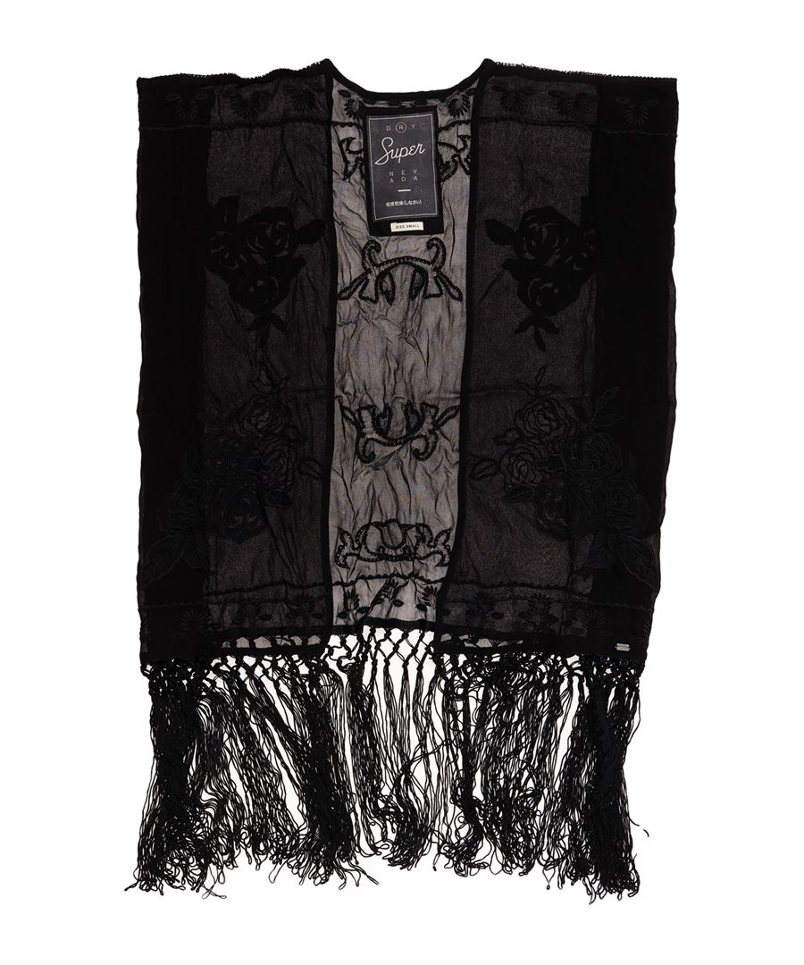 Image for Superdry Vintage Folk Stitch Kimono Top