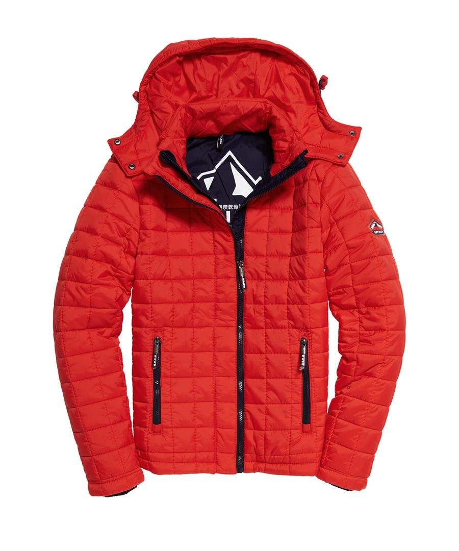 Image for Superdry Box Quilt Fuji Hooded Jacket