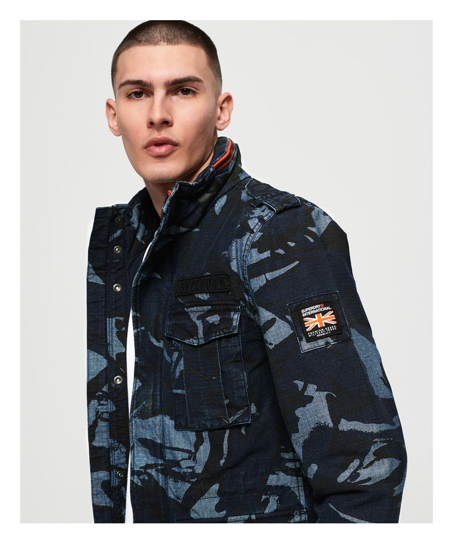 Image for Superdry Indigo Rookie Pocket Jacket