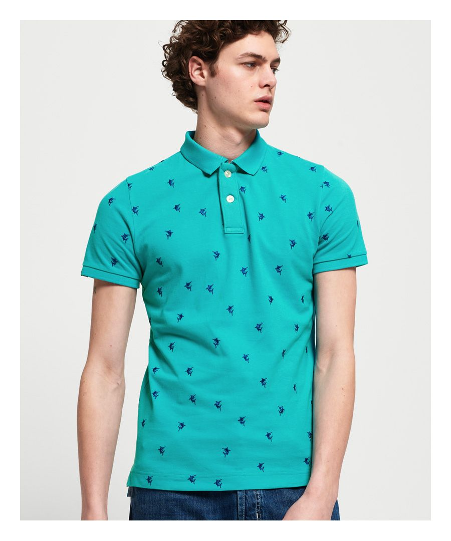 Image for Superdry Bermuda City Polo Shirt