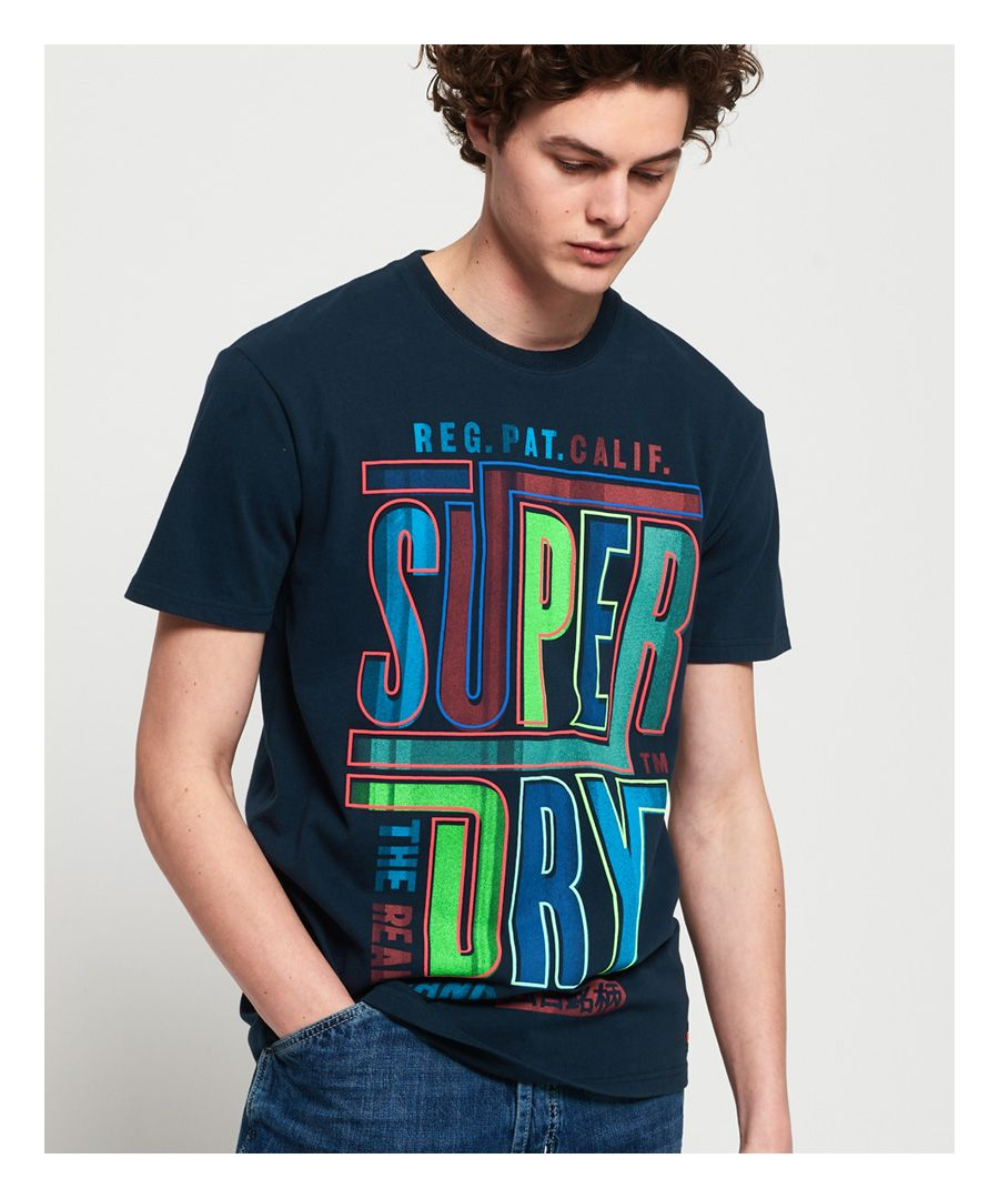Image for Superdry Acid Graphic Mid Weight Oversized T-Shirt
