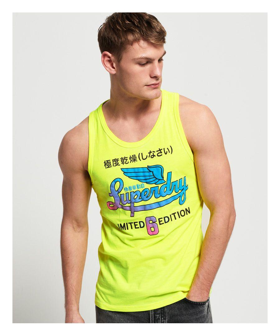 Image for Superdry Spectrum Graphic Lite Vest Top