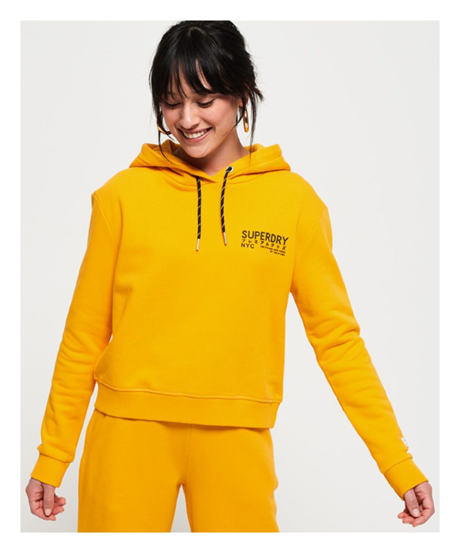 Image for Superdry Elissa Cropped Hoodie
