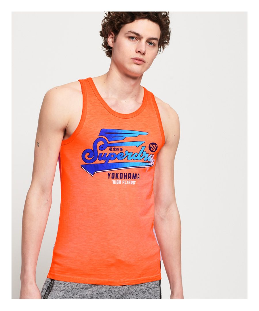 Image for Superdry Spectrum Graphic Lite Vest Top