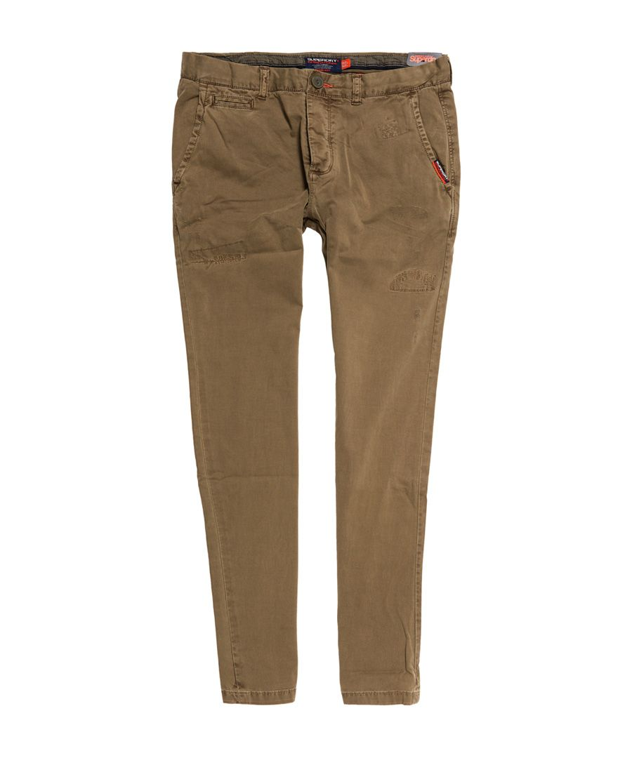 Image for Superdry International Rip And Repair Lite Chinos