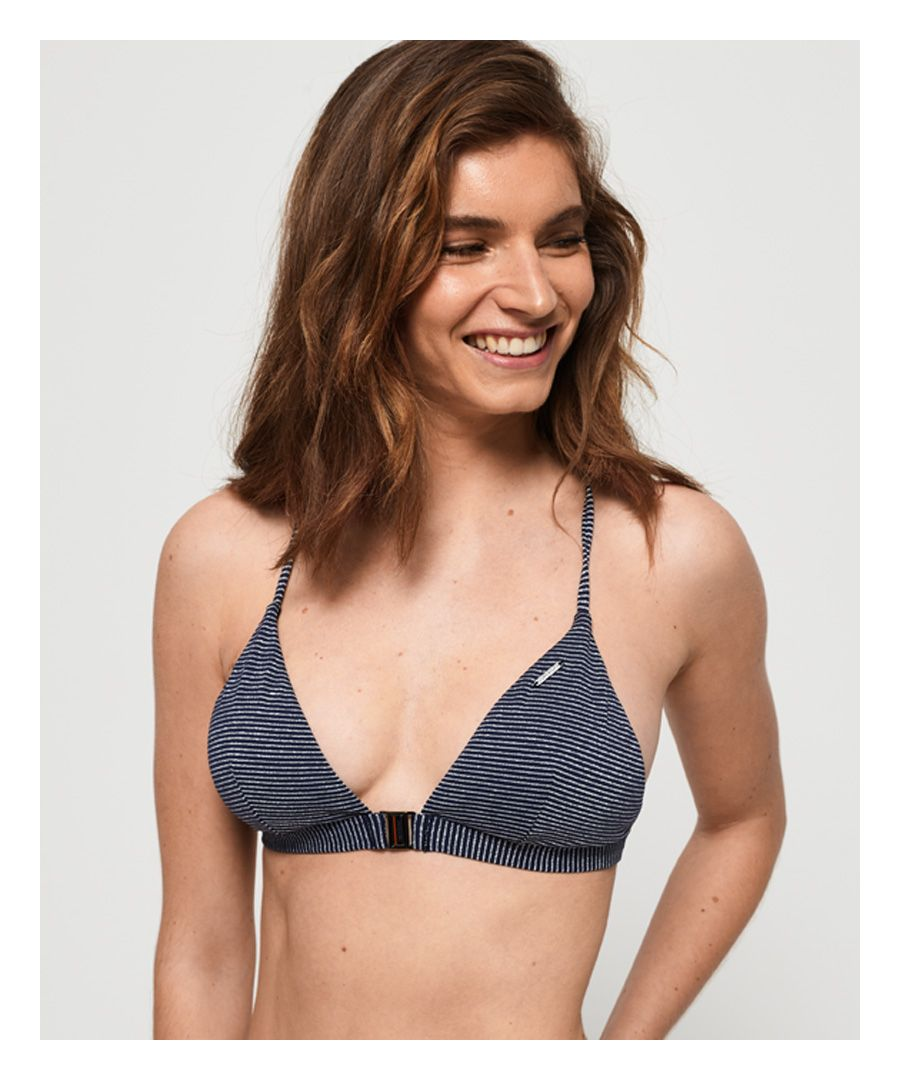 Image for Superdry Kasey Fixed Triangle Bikini Top