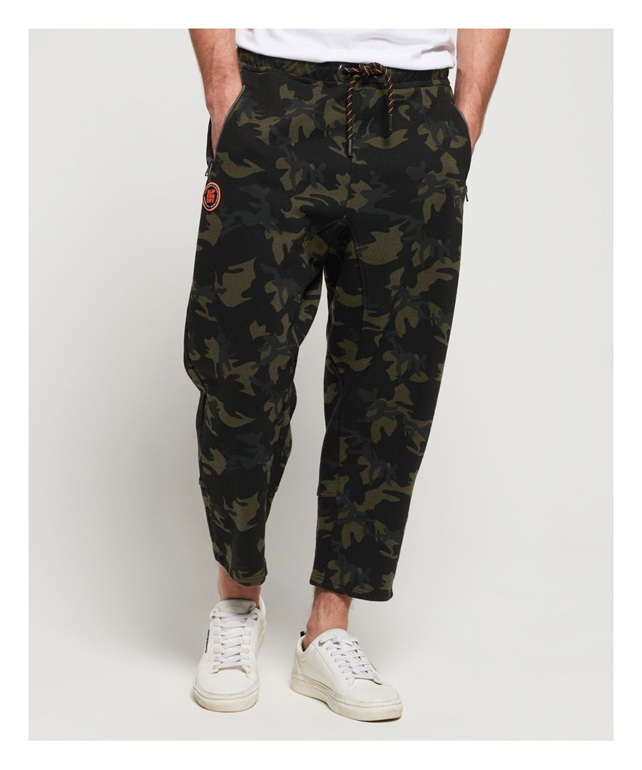 Image for Superdry Cropped Loopback Joggers