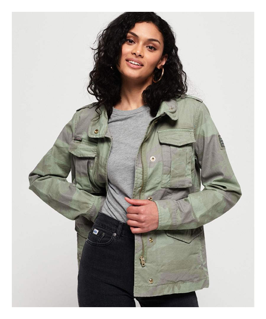 Image for Superdry Delta Soft Camo Rookie Pocket Jacket