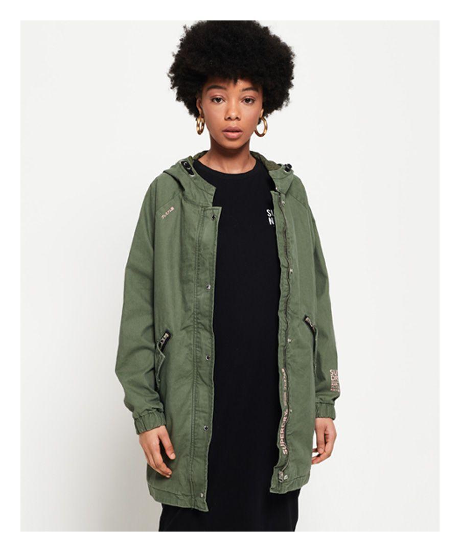 Image for Superdry Bianca Oversized Parka Jacket