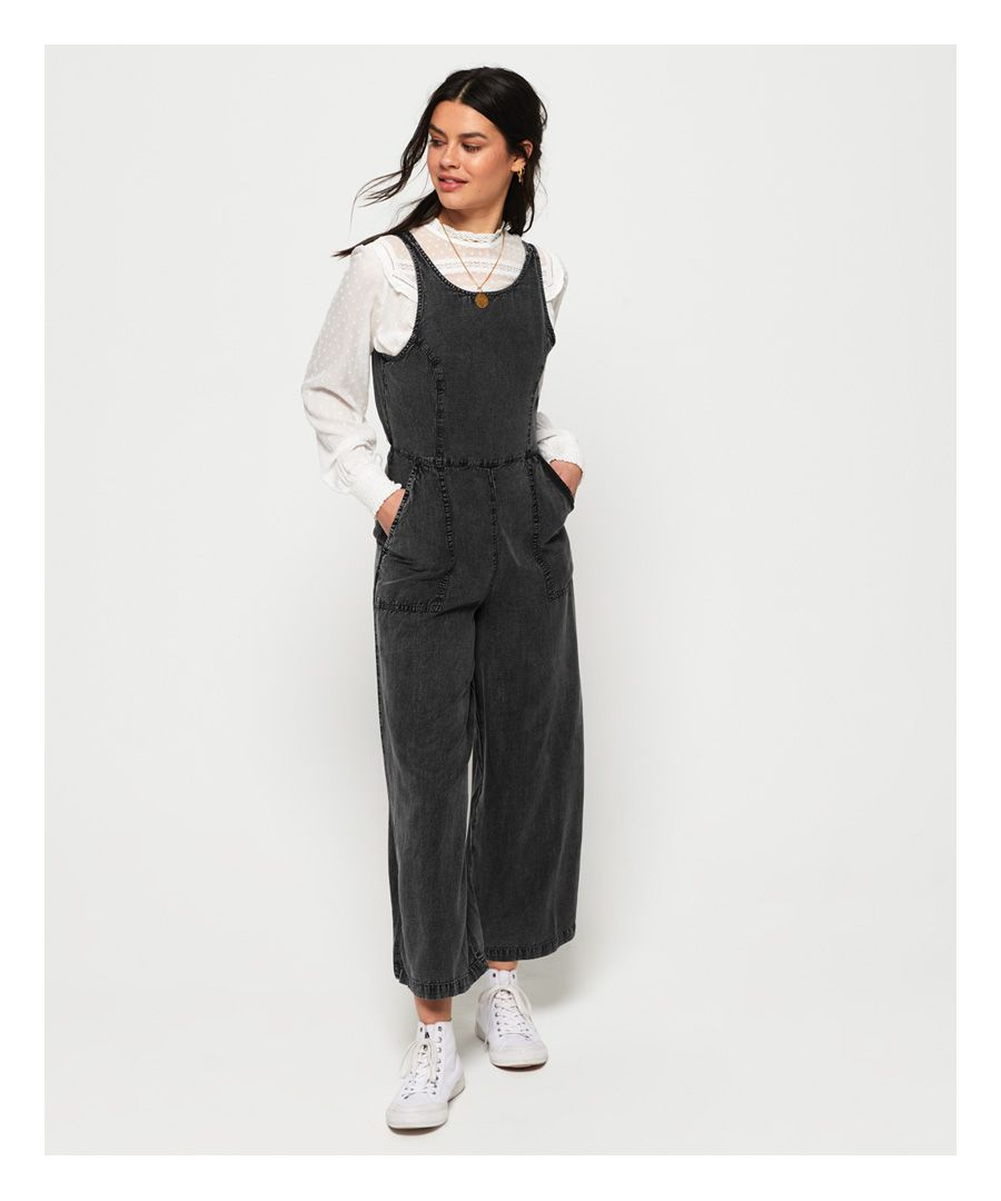 Image for Superdry Ingrid Culotte Jumpsuit