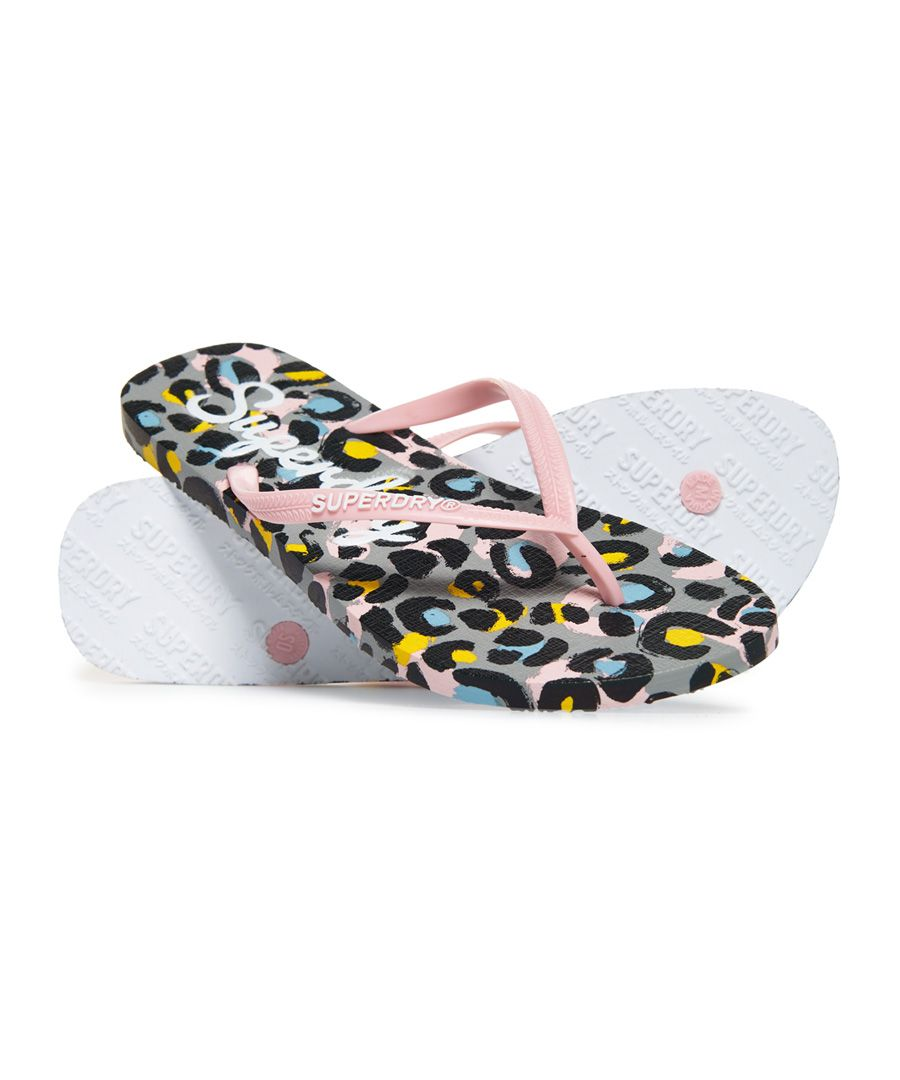 Image for Superdry Super Sleek All Over Print Flip Flops