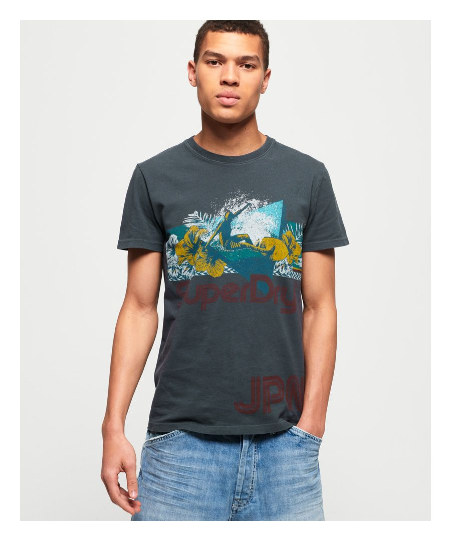 Image for Superdry Retro Surf T-Shirt