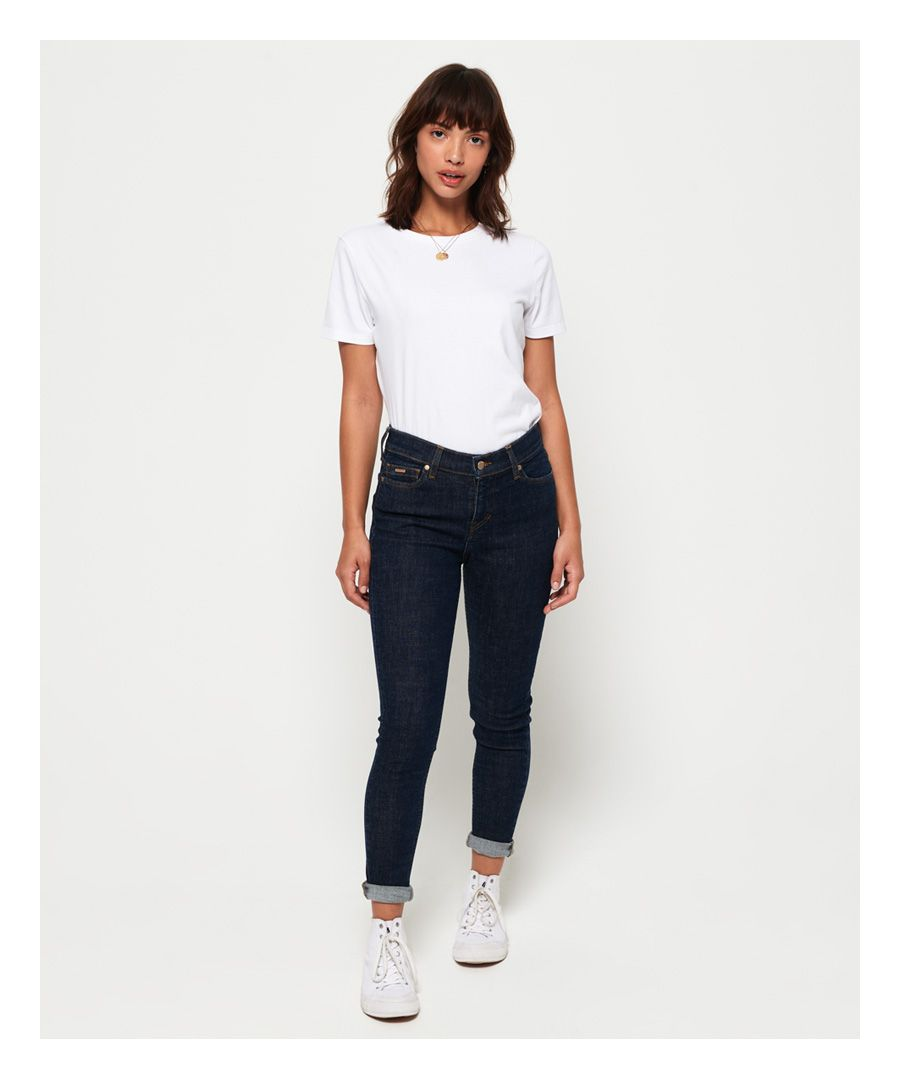 Image for Superdry Super Crafted Mid Rise Skinny Jeans