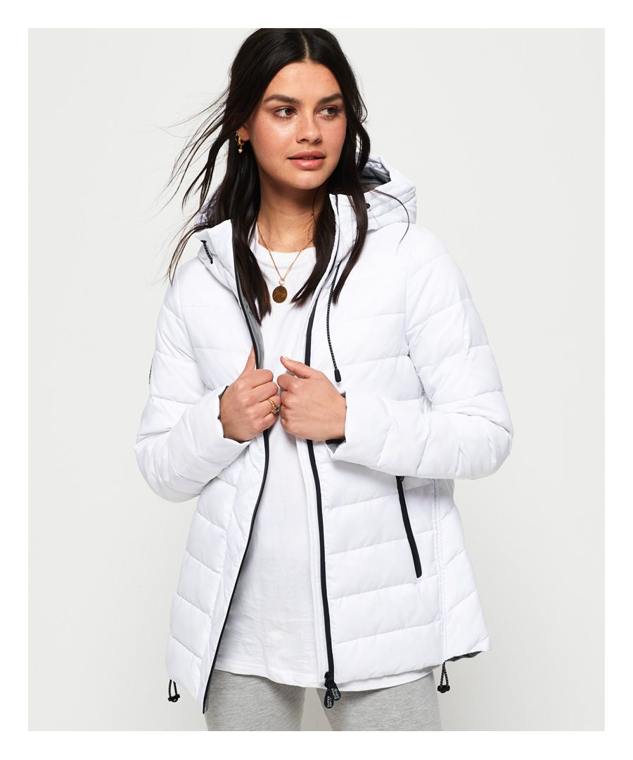 Image for Superdry Eclipse Hooded Fuji Jacket