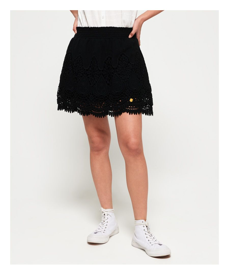 Image for Superdry Amanda Lace Skirt