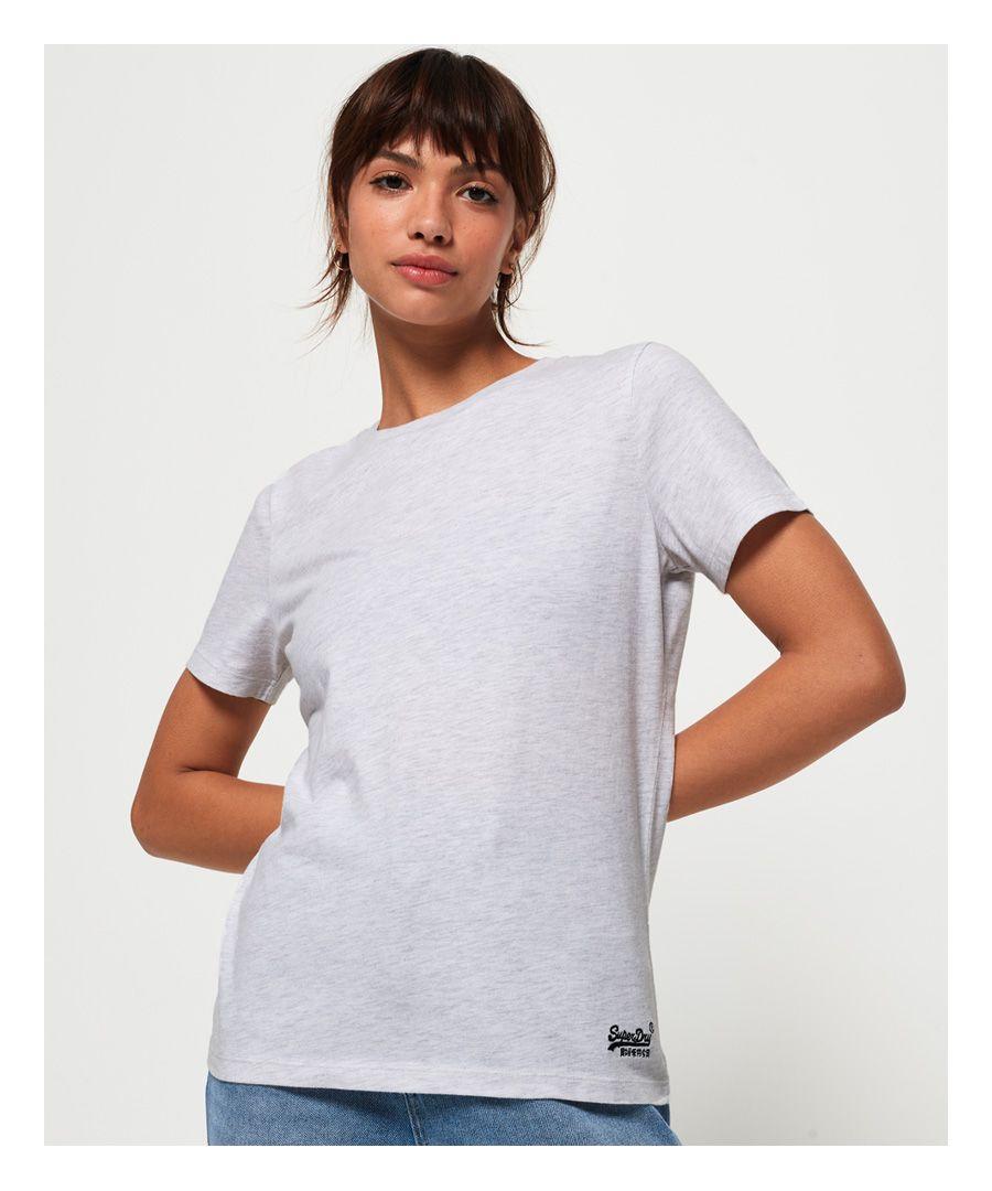 Image for Superdry Orange Label Crew Neck T-Shirt
