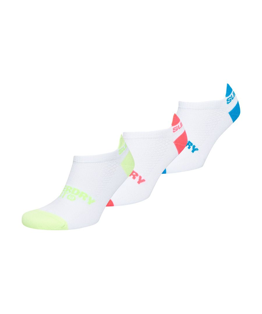 Image for Superdry Coolmax Graphic Trainer Socks - 3 Pack