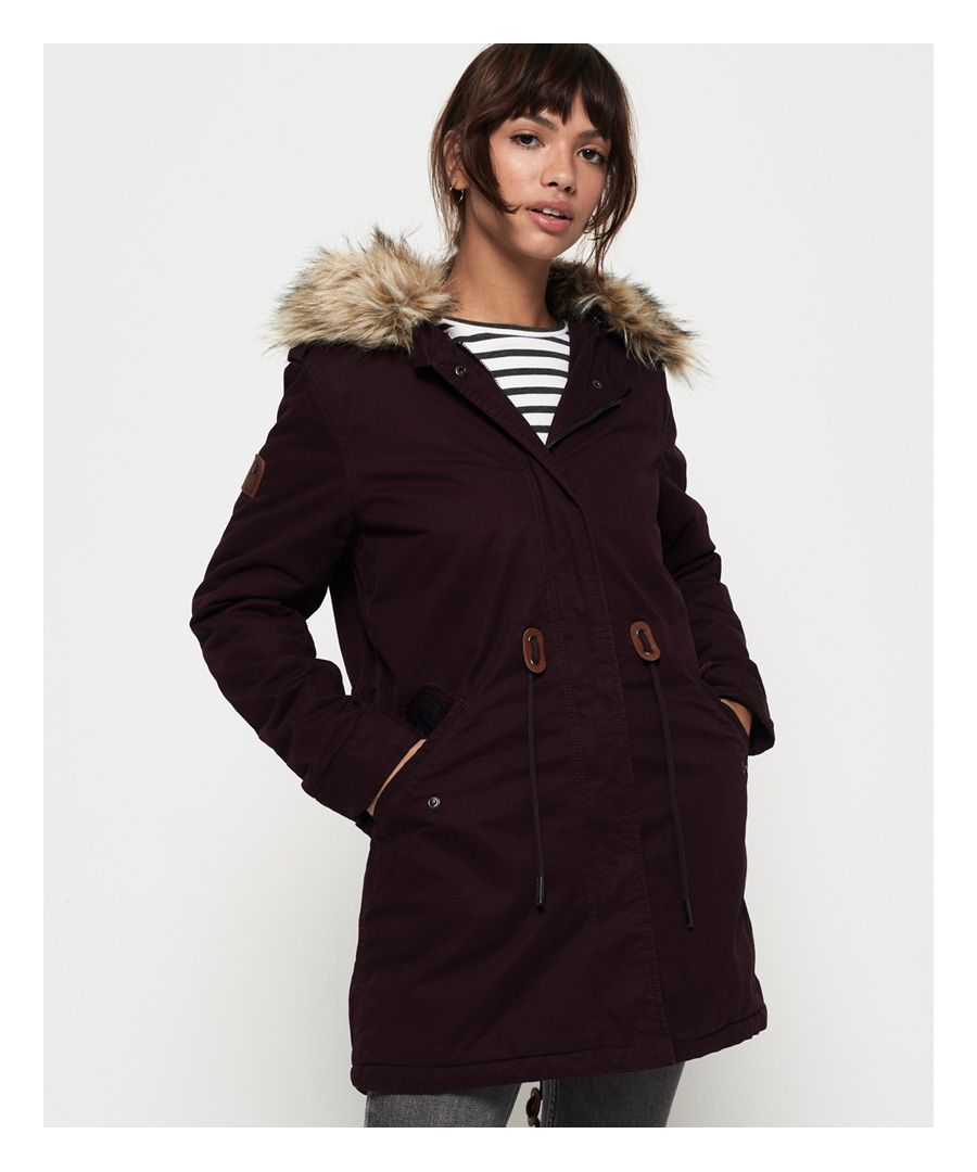 Image for Superdry Borderlands Faux Fur Parka