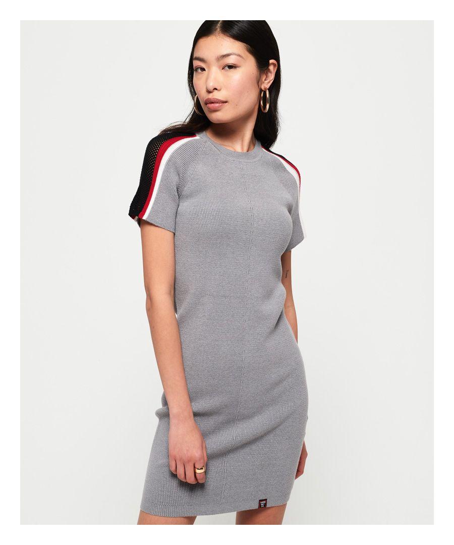 Image for Superdry Sydney Rib Bodycon Dress