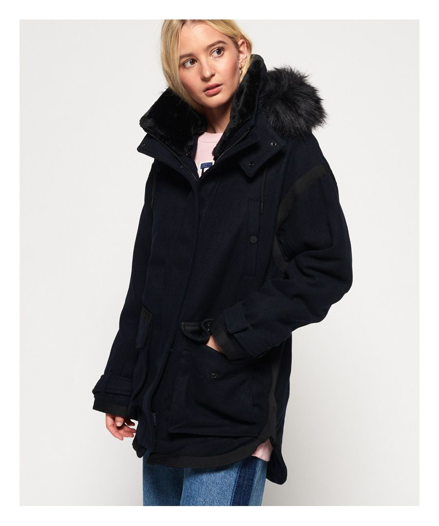 Image for Superdry Fjord Ovoid Parka Coat