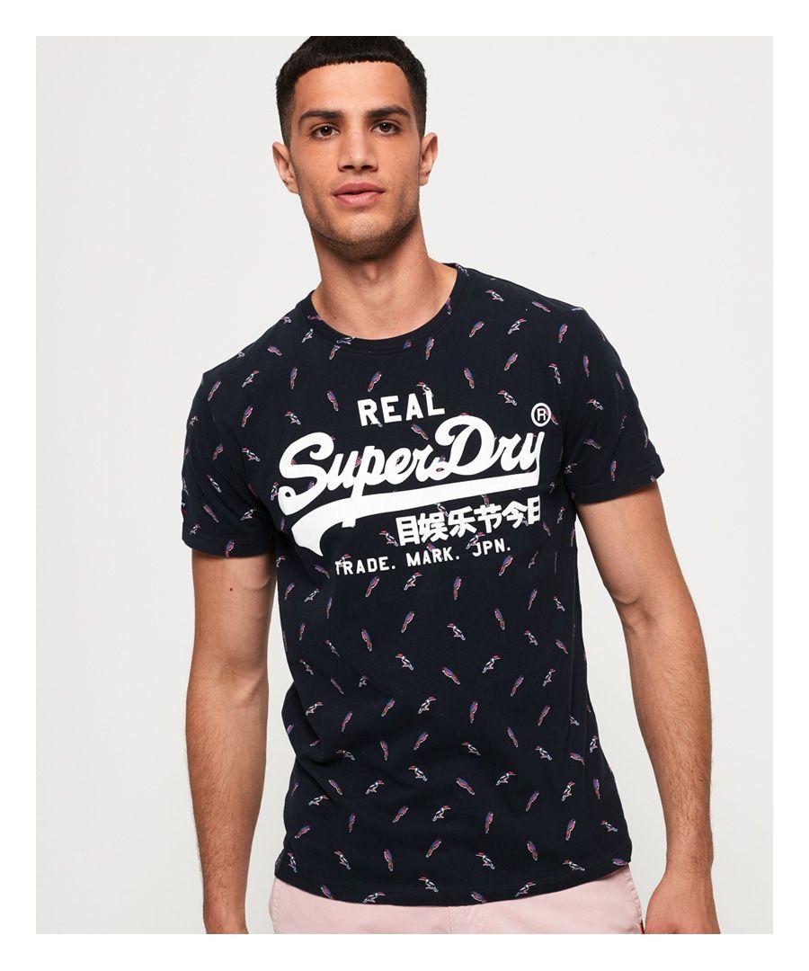 Image for Superdry Vintage Logo All Over Print Mid T-Shirt
