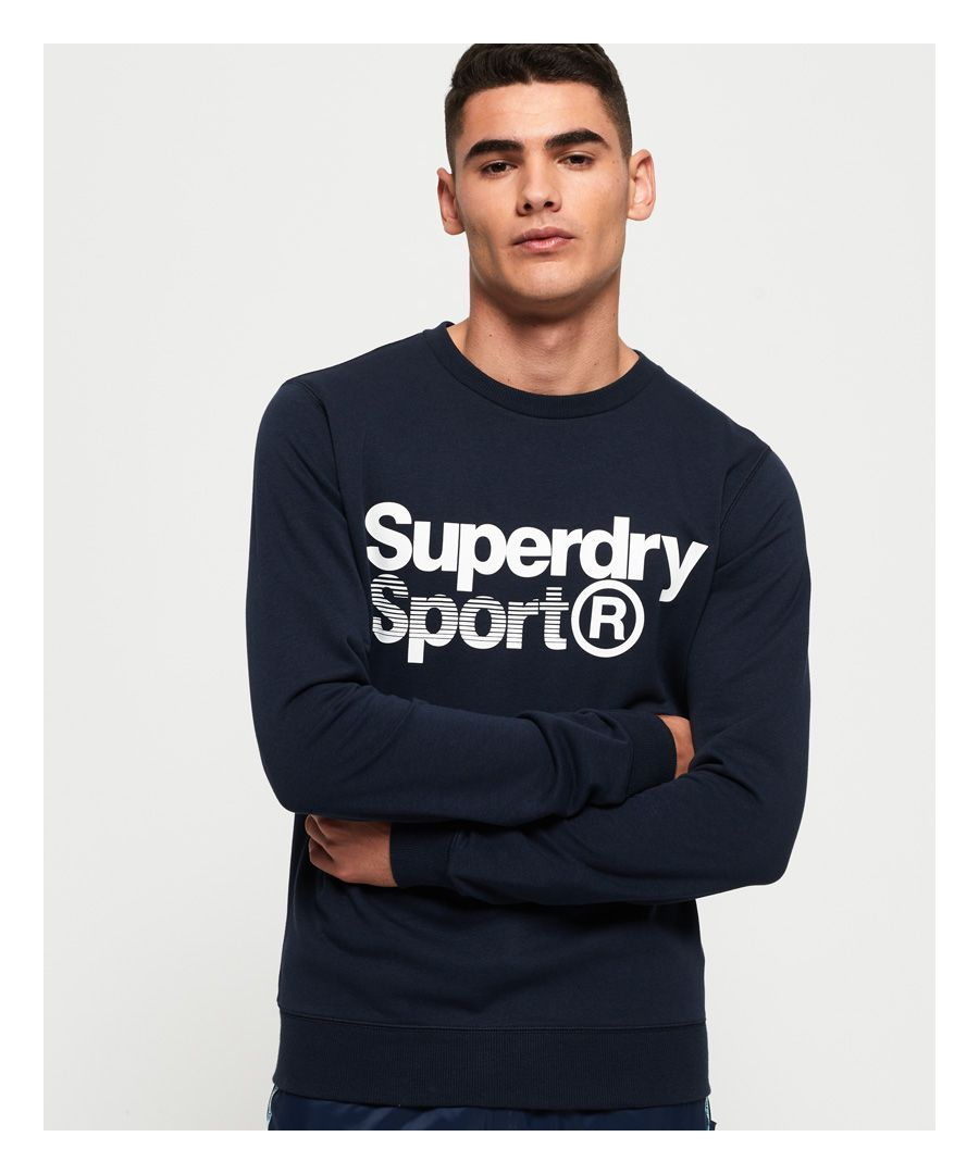 Image for Superdry Core Sport Crew Sweatshirt