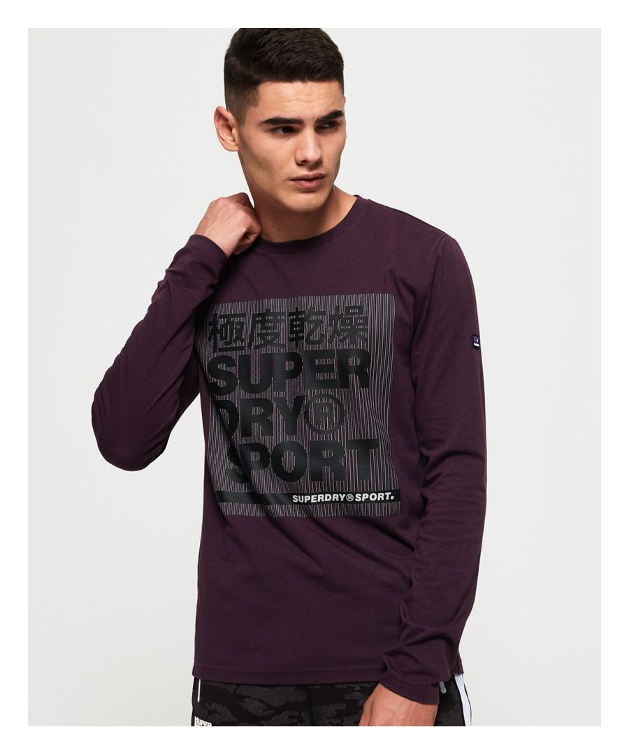 Image for Superdry Core Graphic Long Sleeve T-Shirt