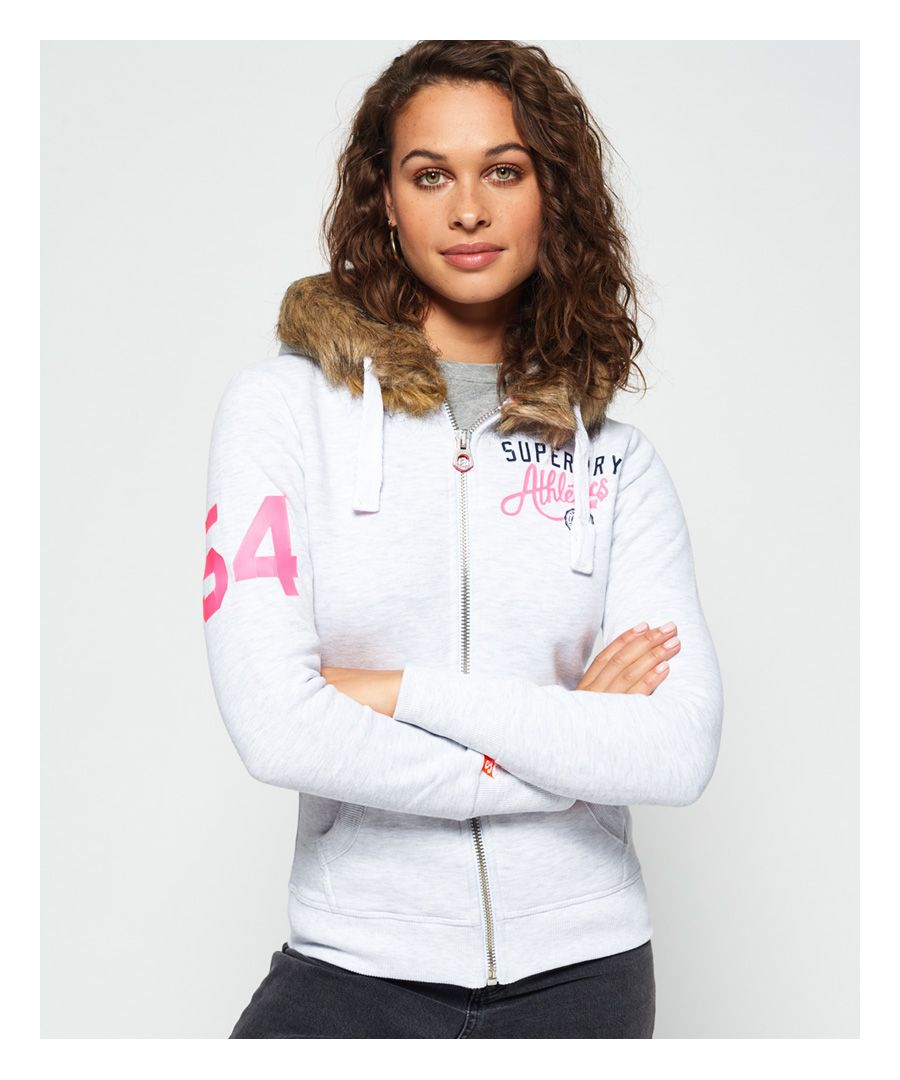 Image for Superdry Track & Field Super Track Zip Hoodie
