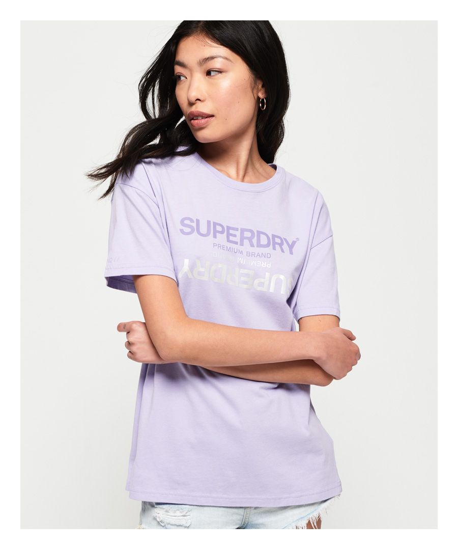 Image for Superdry Premium Brand Reflection Portland T-Shirt
