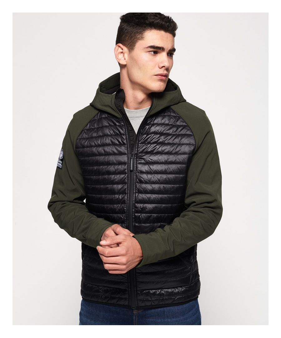 Image for Superdry Mountaineer Softshell Hybrid Jacket