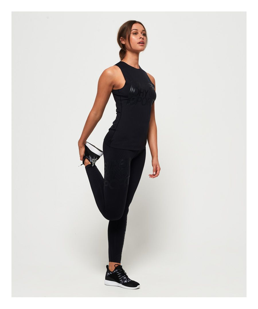 Image for Superdry Performance Compression Flock Leggings