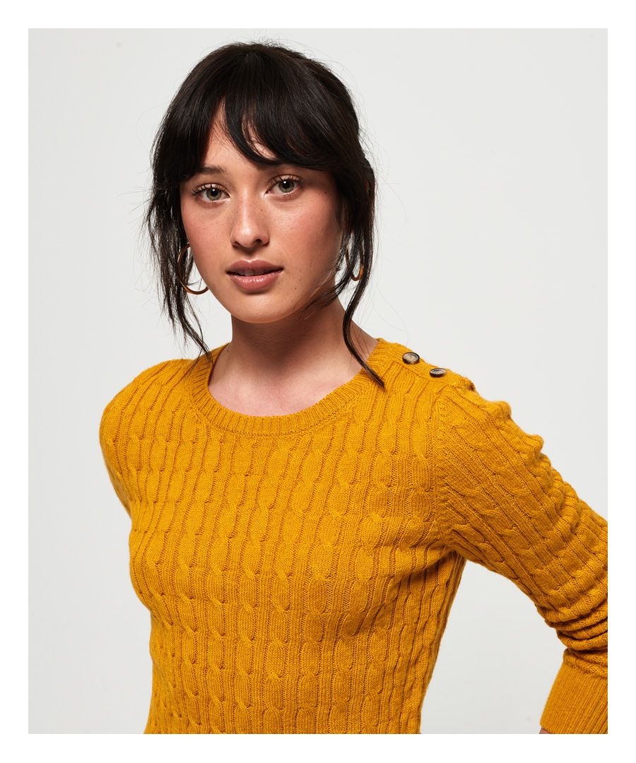 Image for Superdry Croyde Cable Knit Jumper