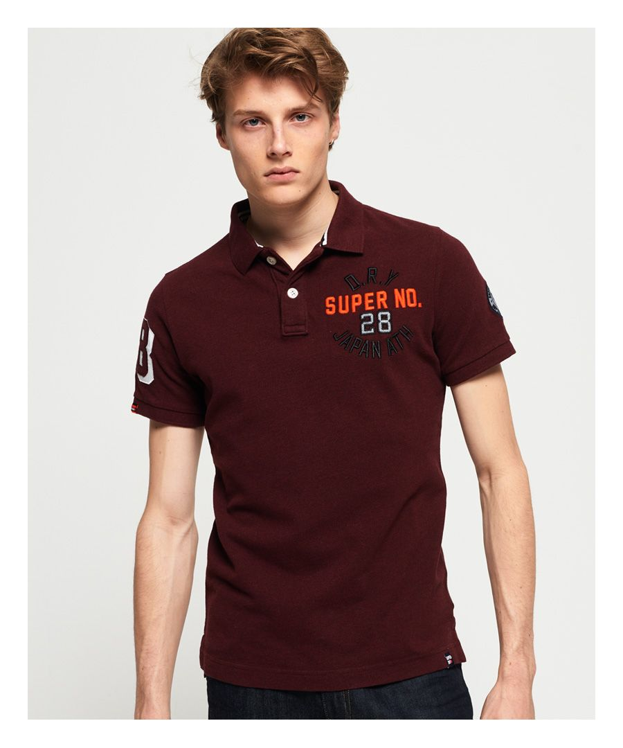 Image for Superdry Superstate Shadow Polo Shirt